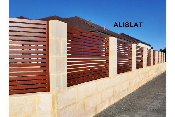 Wood Look Aluminium Slats