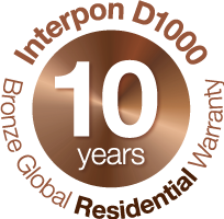 Interpon 10 Year Warranty