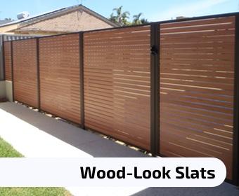 Wood Look Slats
