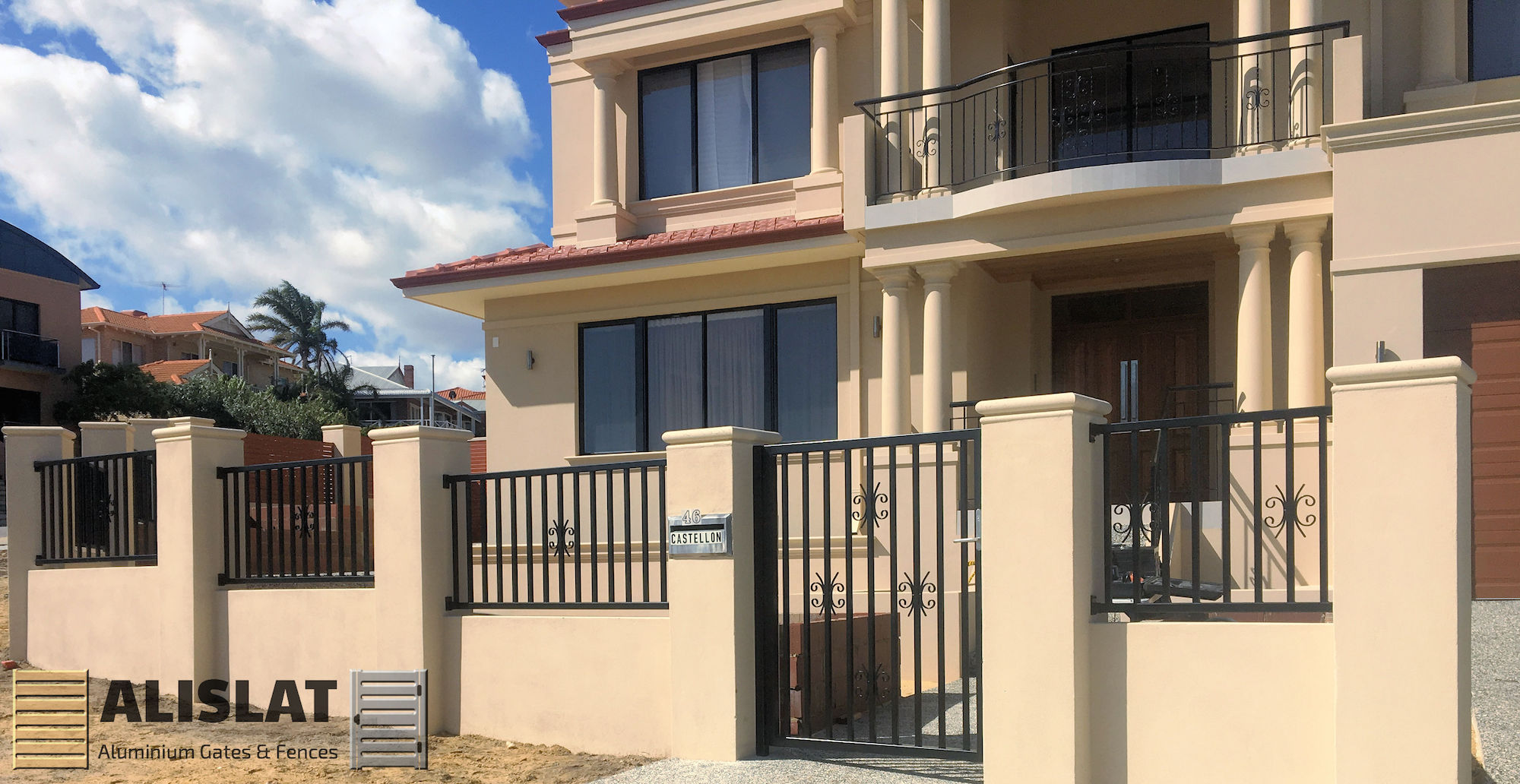 ALISLAT WALLS, WROUGHT IRON & ALUMINIUM SLATS ALL MADE IN AUSTRALIA