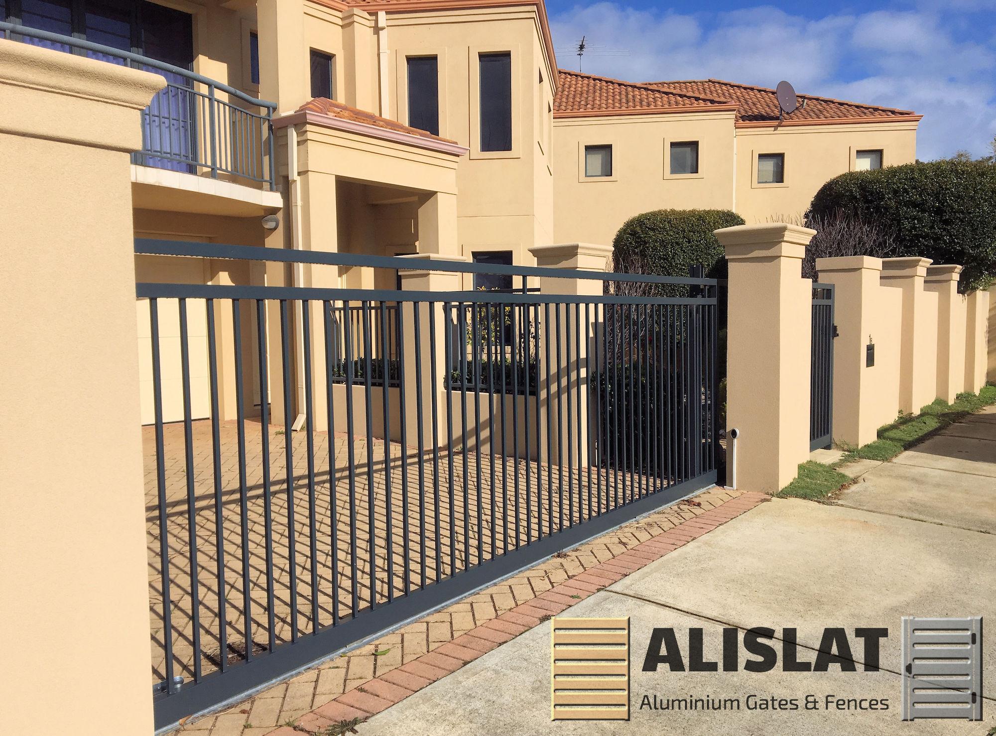 Alislat Aluminium Auto Remote Gates