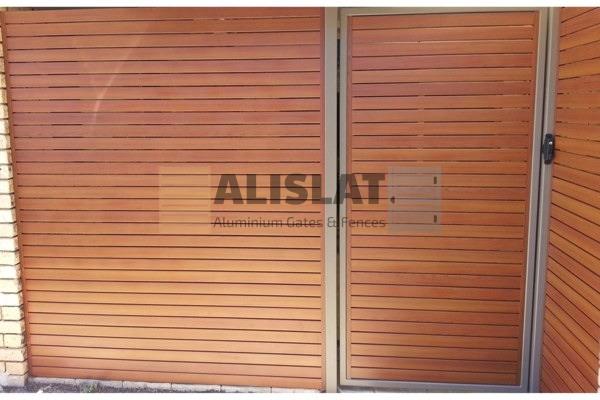 Wood Look Aluminium Slats