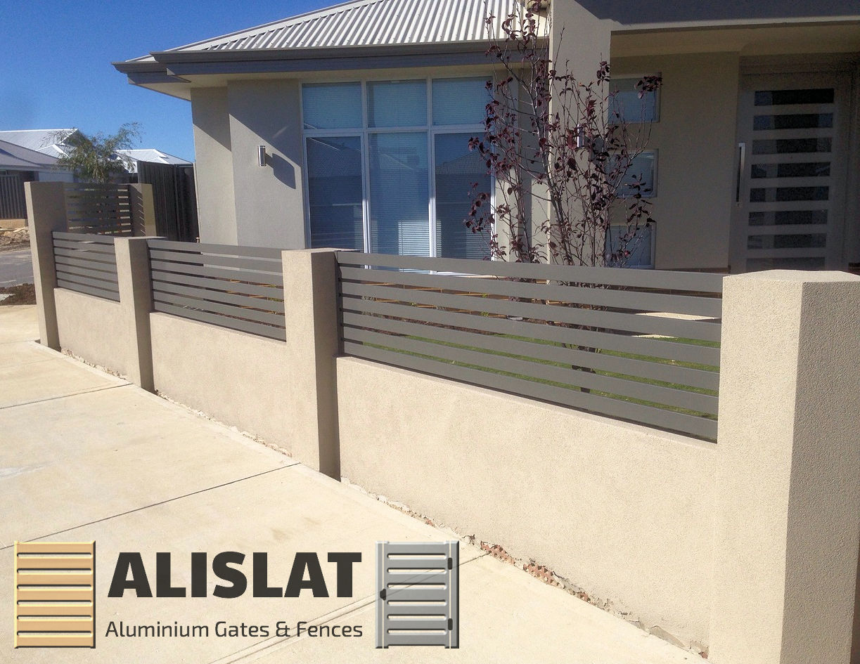 ALISLAT Woodland Grey Colourbond Aluminium Slats