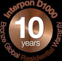 Interpon 10 Year Warranty