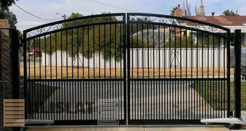 ALISLAT SCROLL GATES